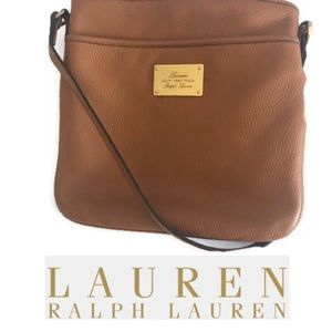 """Lauren"" by Ralph Lauren Small Cross Body Satchel"
